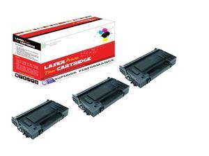 OWS® 3PK Compatible Laser Toner Unit for Panasonic UG-5570 Black Compatible Toner Unit PanaFax UF 7200 8200