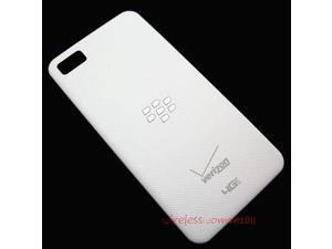 Verizon Blackberry Z10 OEM Door Back Cover Battery Door Housing with NFC White