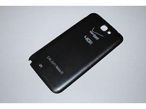 OEM Charcoal Gray Verizon Galaxy Note II battery cover door for Note 2