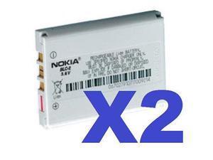 2 FOR 1 Nokia OEM BLC-2 Battery 1221 1260 1261 2260 3310 3315 3330 3315 3410