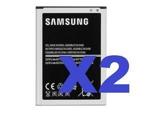 2x Samsung OEM Galaxy Note 2 II Battery EB595675LA 3100mAh Verizon Sprint AT&T