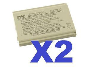 2x OEM Sanyo SCP-27LBPS Battery For Nextel PRO-200 & PRO-700 Taho E4100 Original