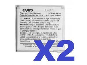 2 FOR 1 SANYO OEM SCP-38LBPS Cellphone Battery for Innuendo SCP-6780