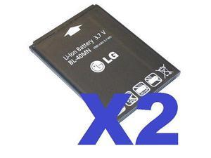 2x LG OEM BL-40MN BATTERY FOR PREPAID TRACFONE LG 840G 840 G EAC61700902