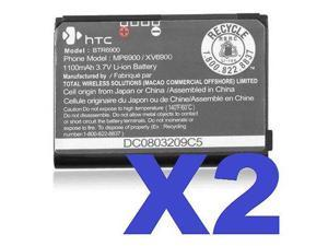 HTC Cell Phone Battery - Lithium Ion (Li-Ion) - 1100mAh