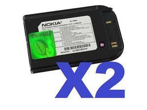 2 FOR 1 NOKIA OEM BL-5002C Cellphone Battery for 6251i Verizon Pantech PBR-315