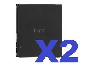 2 FOR 1 HTC BD26100 OEM Battery For Inspire 4G Desire HD Surround 35H00141-02M