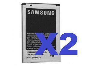 2x TRACFONE NET10 OEM SAMSUNG R455C Cell Phone Battery EB404465VA EB404465VABSTD