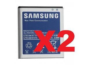 2x OEM Samsung EB-L1D7IVZ 1850mAh Battery for Verizon Galaxy Nexus Prime i515