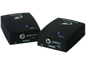 Dayton Audio WS-12 Sub-Link XR 2.4 GHz Wireless Audio Transmitter/Receiver System for Subwoofers (Black)