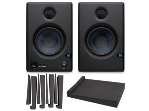 PreSonus Eris E4.5 Monitors - Set of 2 with LyxPro MNS-4 Studio Monitor Acoustic Isolation Pads