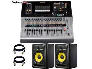 Yamaha TF1 | 16 Channels Digital Mixing Console + Free Pair KRK RP8G3 STUDIO SPEAKER and Cables