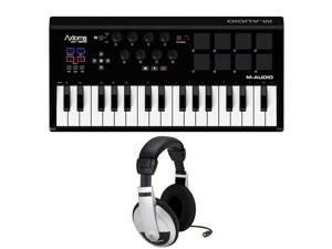 M-Audio Axiom AIR Mini 32 -Channel Midi Controller. W/ Samson HP10
