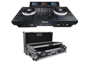 Numark NS7III - 4-Channel Motorized DJ Controller. + Numark NS7II Digital Controller Flight Case.
