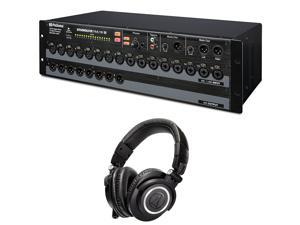 Presonus StudioLive RML16AI 16-Channel Rack-Mount Digital Mixer + Audio-Technica ATH-M50x Headphones