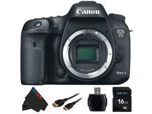 Canon EOS 7D Mark II DSLR Camera (Body) &  16GB Pixi-Basic Accessory Kit