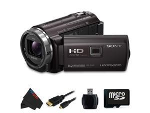Sony HDRPJ540/B Video Camera with 3-Inch LCD (Black) + 16 GB Pixi-Basic Accessory Bundle