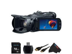 Canon VIXIA HF-G30 HF G30 HFG 30 HD Camcorder with HD CMOS Pro + Pixi-Basic 16GB Accessory Bundle