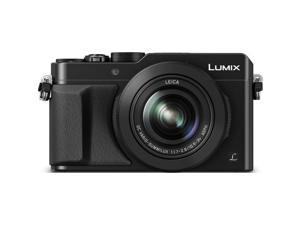 Panasonic LUMIX LX100 12.8 MP Point and Shoot Camera with Integrated Leica DC Lens (Black)