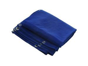 20' X 30' Blue Mesh Tarp Cover Patio Canopy Shade New