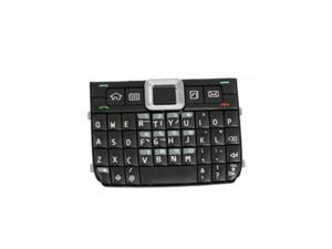 BisLinks® Replacement Black Keypad Buttons Keyboard For Nokia E71 New Spare Repair Part