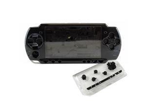 BisLinks® Full Housing Case In Black For Sony Playstation PSP 2000 Mod Replacement Fix