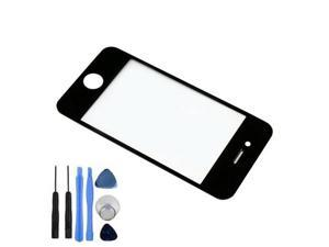 BisLinks® New Front Screen Lens Glass For iPhone 4S Replacement Part Black
