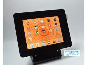 Black iPad mini 1/2/3 desktop kit for PayPal, Amazon, PayAnywhere, ID Tech Shuttle card readers