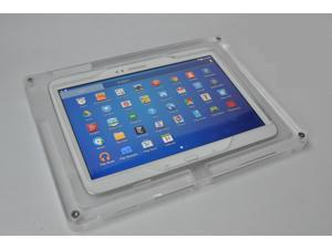 Samsung Galaxy Tab 3/4 10.1, Note 10.1 2014 Security Acrylic Dock Station like Apple Store Display, Good for Store Display, Show Display, Kiosk Station