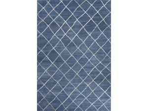 Jaipur RIA02 Hand-Tufted Durable Wool Blue/Ivory Area Rug ( 9x12 )