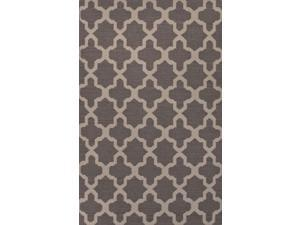 Jaipur MR114 Flat-Weave Geometric Pattern Wool Gray/Ivory Area Rug ( 3.6x5.6 )