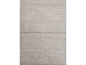 Jaipur BI03 Solids/ Handloom Solid  Wool/ Art Silk Gray/ Area Rug ( 8x10 )