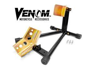 Venom® Motorcycle Bike Front Tire Wheel Chock Lift Stand For Buell Thunderbolt S2 S3 Blast 1125R M2 Cyclone