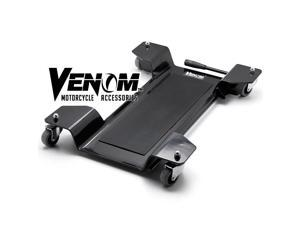 Venom® Motorcycle Center Stand Mover Dolley Cruiser Bike Dolly Park and Move Dollie Motorcycle Center Stand Mover Dolly Cruiser Park