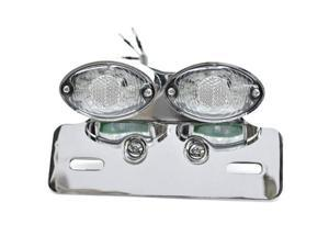 Krator Custom LED License Plate Taillight Turn Signals For Vespa LX GTS GTV 250 Sprint Sport Rally