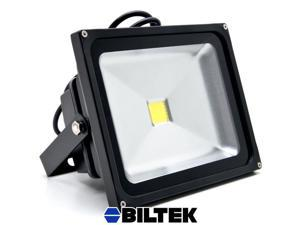 Biltek® 30W LED Flood Light Cool White High Power Outdoor Spotlights Industrial Lighting Home Security Lighting Outdoor House Business Surveillance Safety Wall Washer High Building Ad Billboard Garden