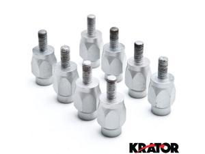 "Krator® 3"" Wheel Stud Spacer Bolts 10mm x 1.25 2xWheels For Arctic Cat Renegade"
