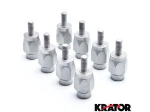 "Krator® 3"" Wheel Stud Spacer Bolts 3/8"" Widens  2 Wheels For Polaris Xplorer Front"