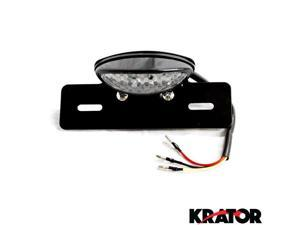 Krator Custom LED License Plate Taillight Brake Light For Vespa LX GTS GTV 250 Sprint Sport Rally