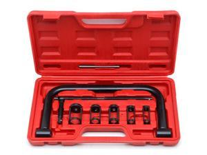 Biltek Valve Spring Compressor C Clamp Service Kit Auto Motorcycle ATV Small Engine New Heavy Duty 5 Sizes Valve Spring Compressor Pusher Tool Car & Motorcycle Repair