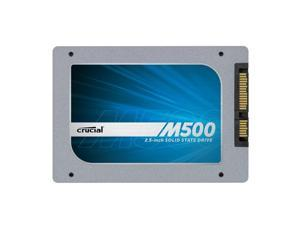 Crucial M500 960GB SATA 2.5-Inch 7mm (with 9.5mm adapter/spacer) Internal Solid State Drive CT960M500SSD1