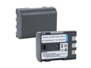 2x Fosmon - Battery for Canon NB-2L NB-2LH 400D Rebel XT Xti (2 Pack)