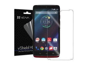 3x HD Clear Anti-Scratch Screen Protector Shield Saver For Motorola DROID Turbo