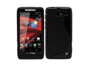 Fosmon DURA S Series TPU Case for Motorola DROID RAZR M 4G LTE / XT907 (Black)