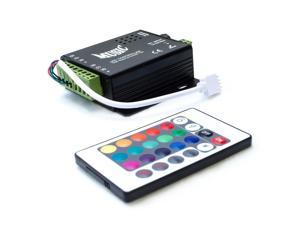 HitLights LS_MUSIC144W Sound Activated LED Music Controller 2.0 With Remote