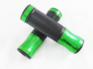 Custom Logo Motorcycle CNC Aluminum Grips for Sym Fighter ZR GTS 200 250   Green