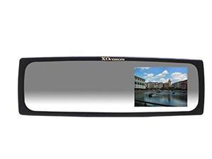 "XO VISION RM404 4"" High Def Rear View Mirror Monitor Video System (Black) - New"