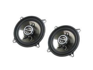 """DIESEL AUDIO NSH-4SP 400W  4"""" 2-Way Coaxial Speaker (Black) - New"""