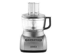 KITCHENAID KFP0711CU 7-Cup Food Processor (Contour Silver) - Refurbished