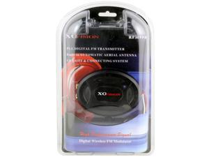 XO VISION RFM998 PLL Digital FM Transmitter (Black) - New